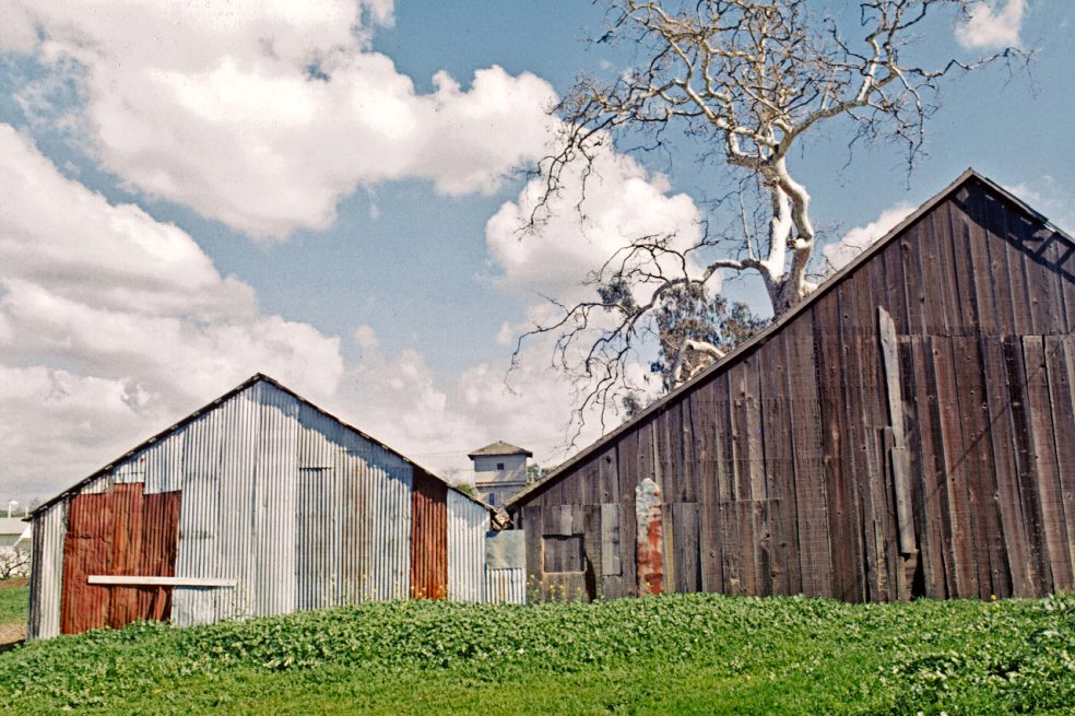 california barn
