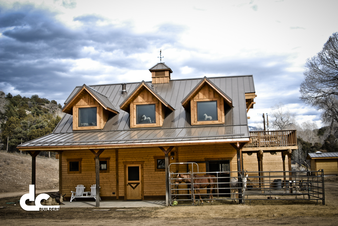 New mexico apartment barn by dc builders of damascus for Custom garages with living quarters