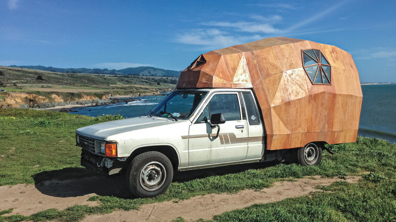 Pickup Truck Shelter : Camper by jay nelson the shelter