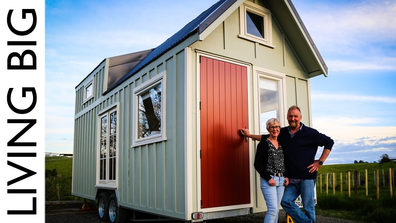 couple build tiny house to live big in retirement the. Black Bedroom Furniture Sets. Home Design Ideas