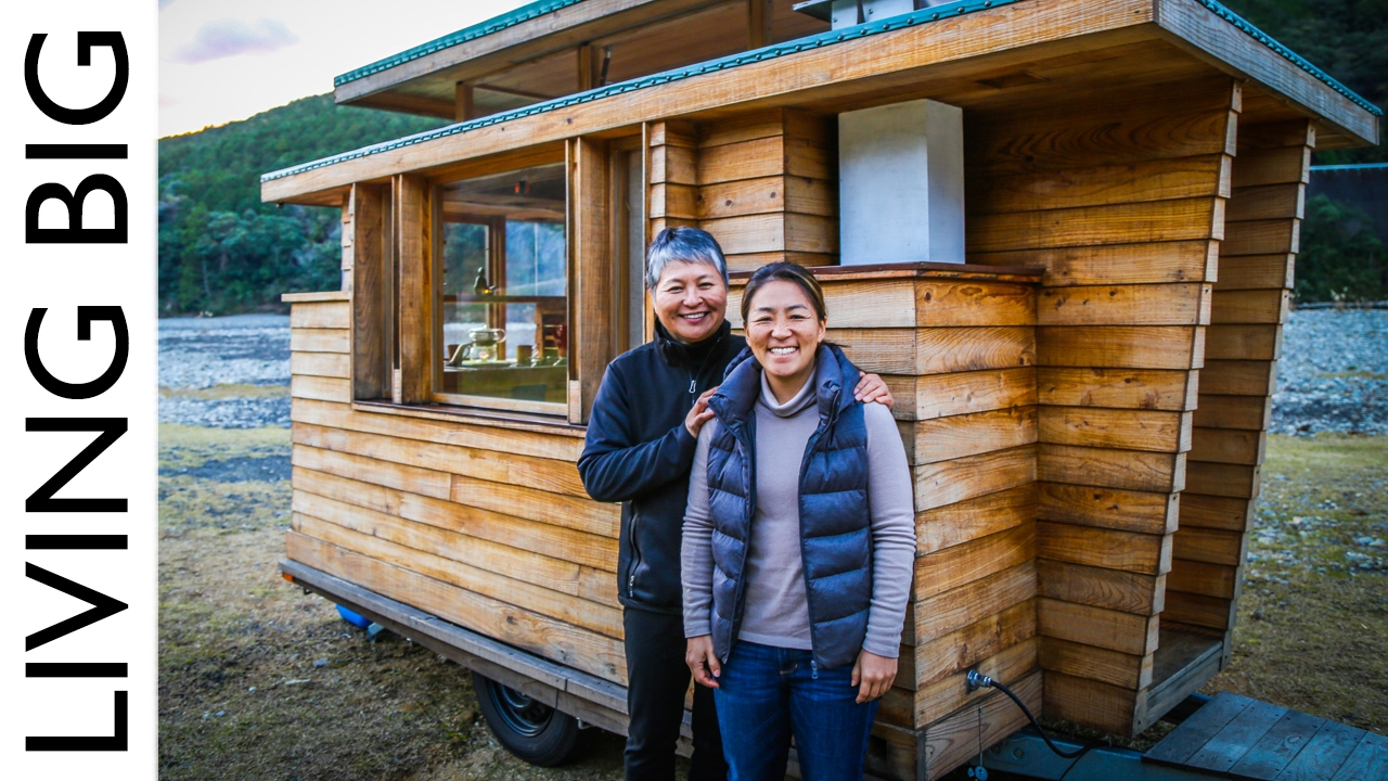 Tiny Home Designs: Beautiful Japanese Tiny House On Wheels