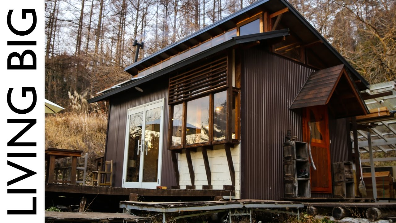 Majestic Off Grid Cabin In The Japanese Mountains The