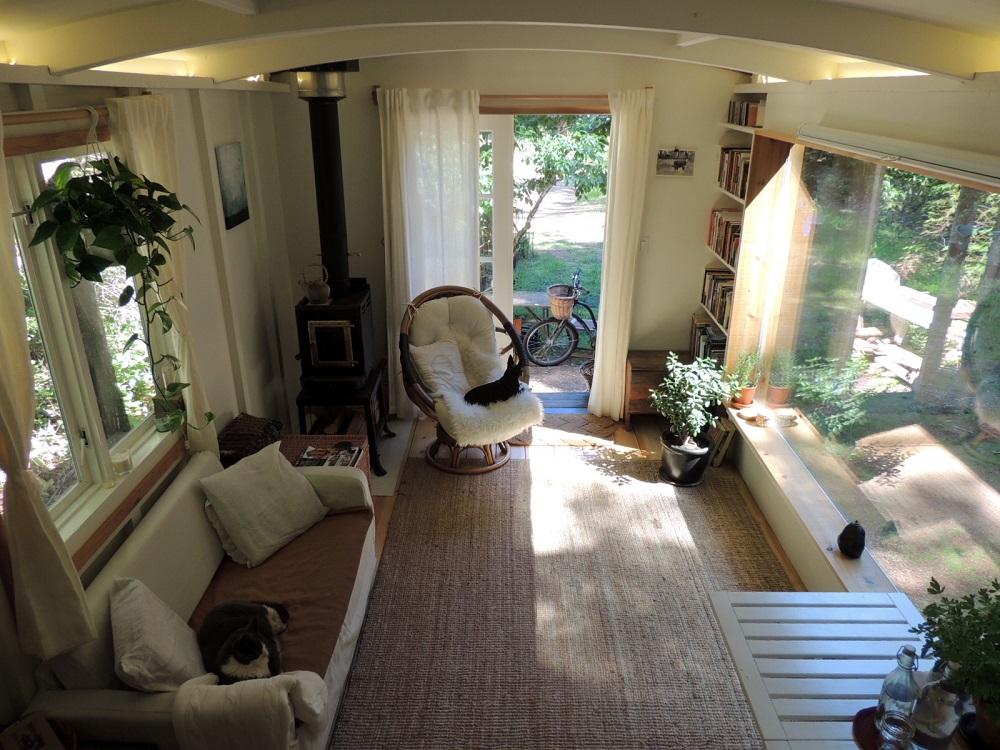 caravan on hornby island bc the shelter blog. Black Bedroom Furniture Sets. Home Design Ideas