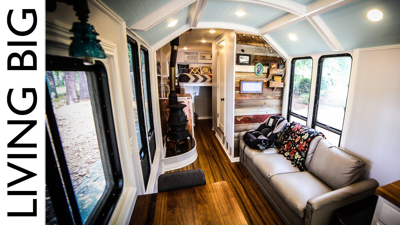 School Bus Converted Into Incredible Off Grid Home The
