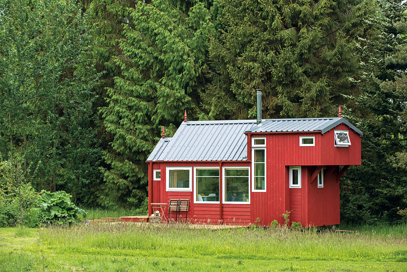 Tiny House in Scotland  The Shelter Blog