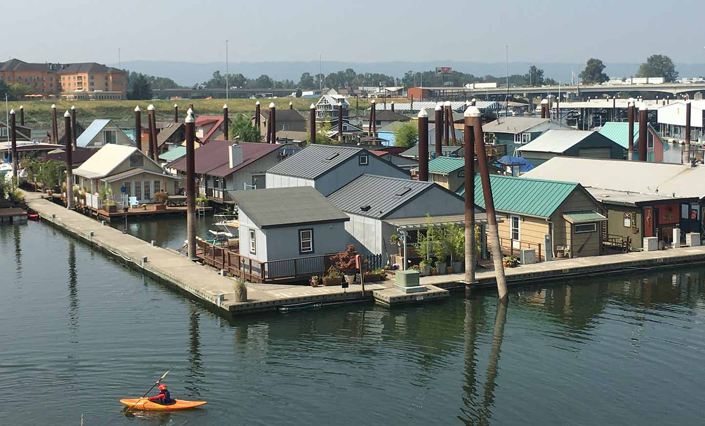Floating Homes in Portland