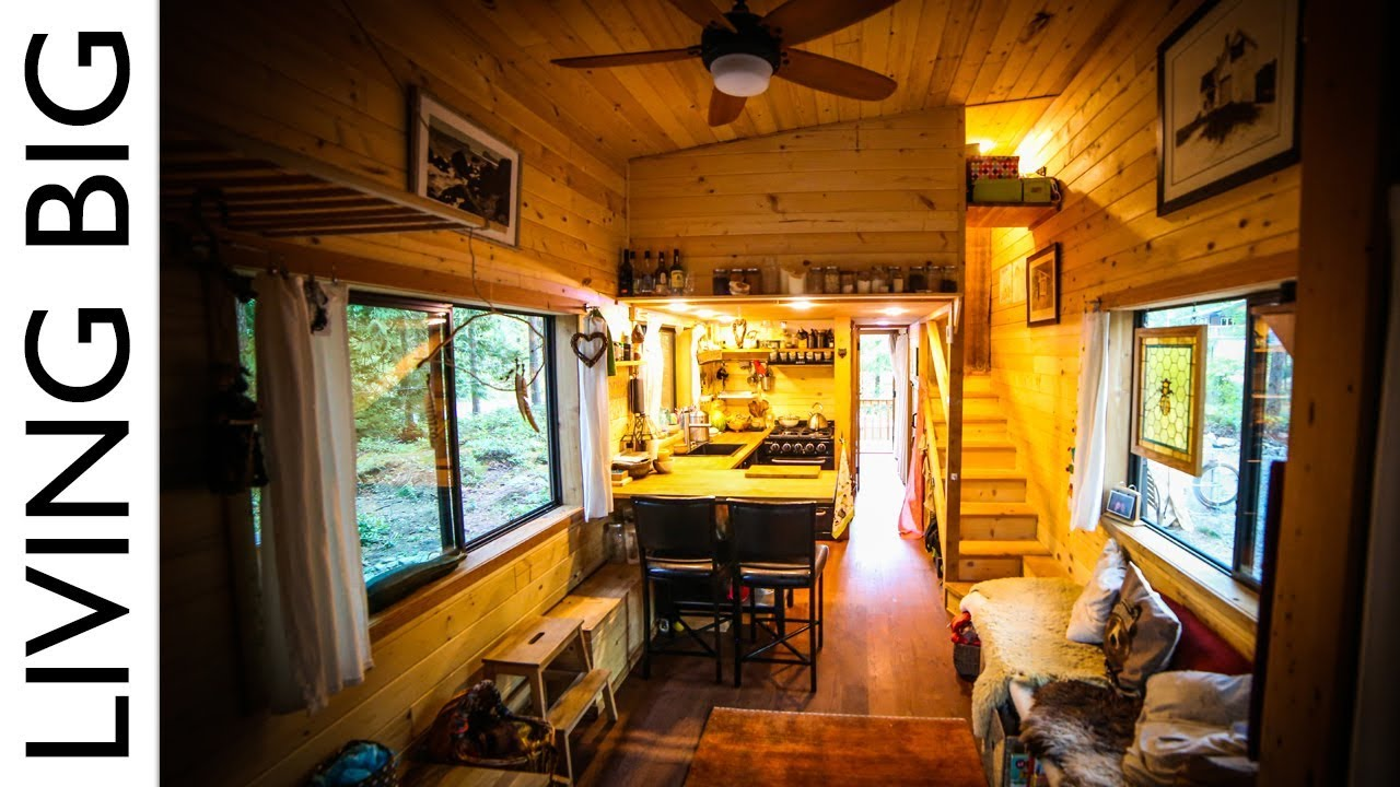 Tiny house for family with separate office and kids for Tiny house blog family