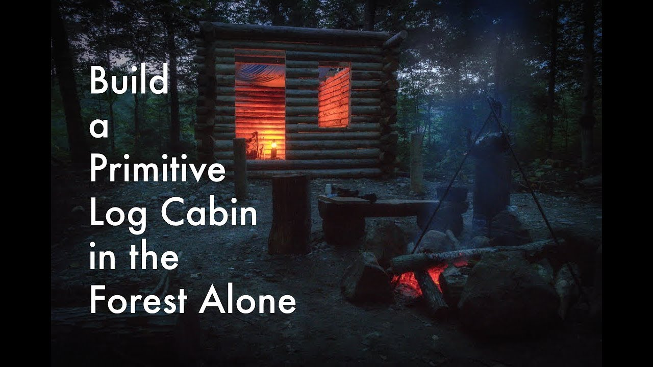 how to build a primitive cabin
