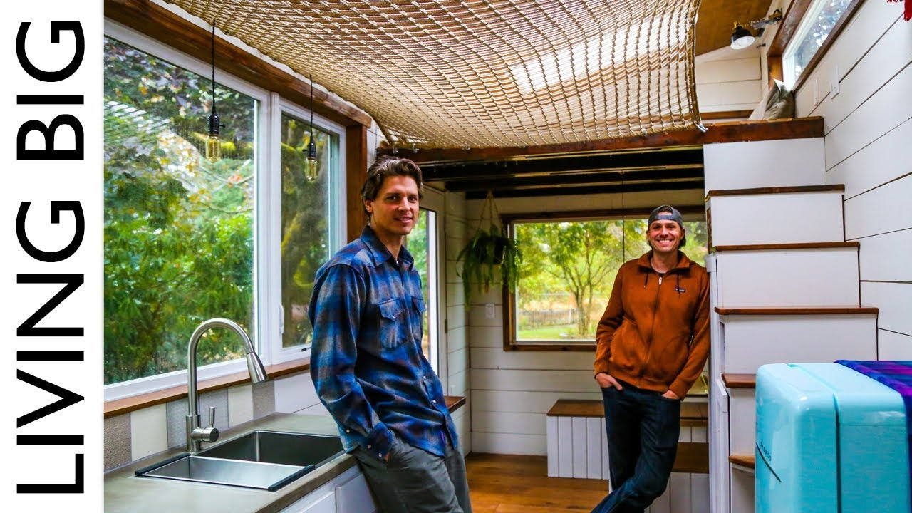 Tiny House With Hammock Loft The Shelter Blog