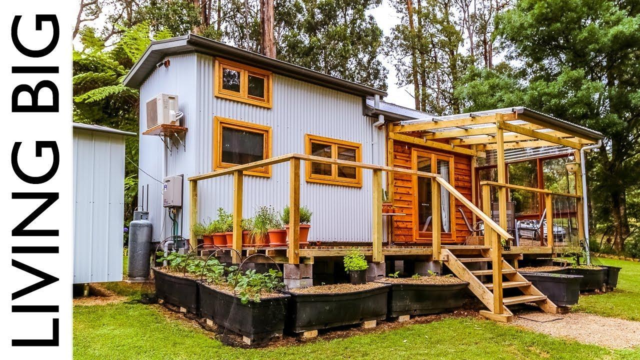 Zero waste plant based tiny house the shelter blog for Tiny house blog family