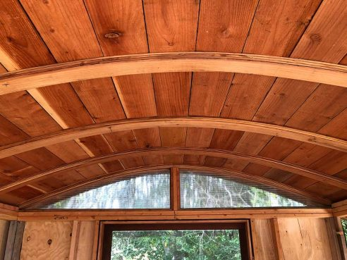 Curved-Roof Shed   The Shelter Blog
