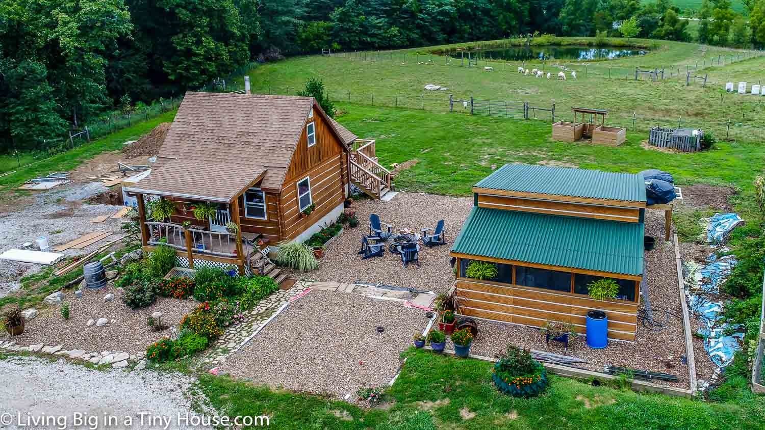 Tiny Home Designs: Off-Grid Homestead In Missouri
